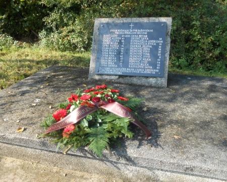 28.09.2014. - Комеморација и помен страдалим србима Грубишног Поља у Другом свјетском рату